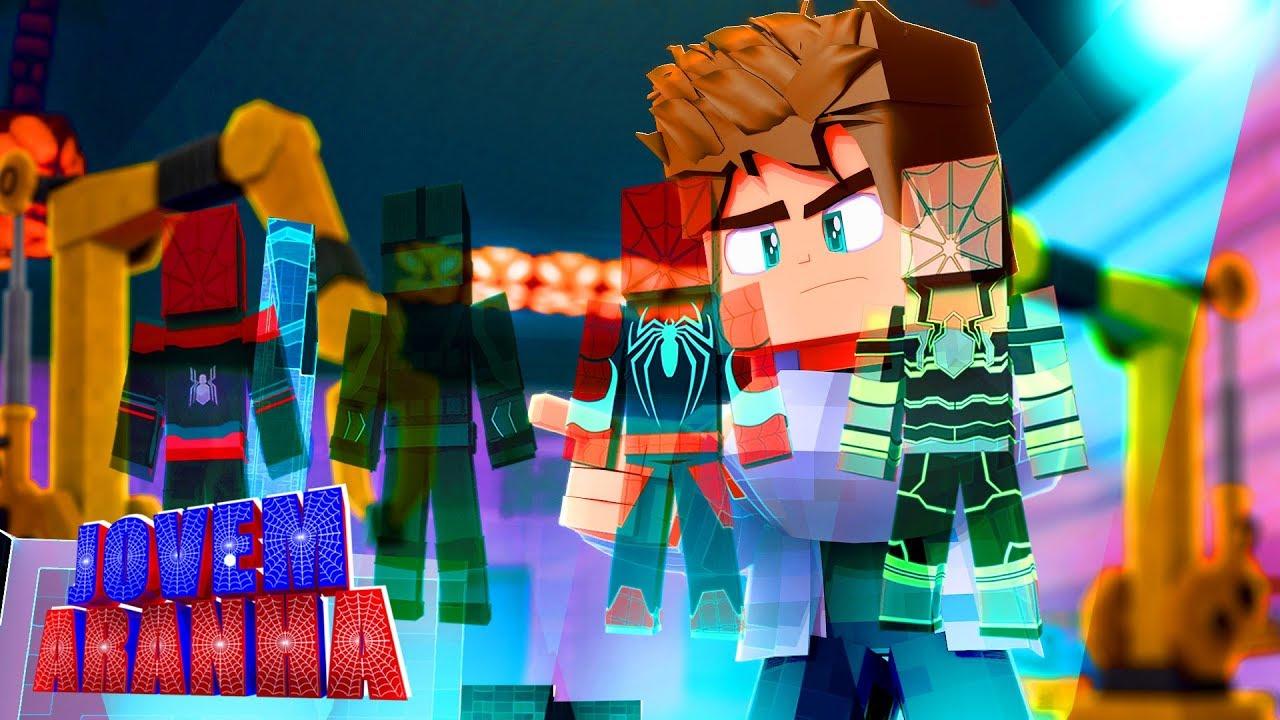 Minecraft: CRIEI UM UNIFORME NOVO DE HOMEM ARANHA !!! - Jovem Aranha ( Longe de Casa ) #14 ‹ Goten ›