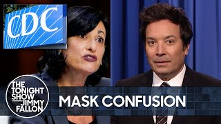 CDC Director Defends New Mask Guidelines, UFOs Are Real | The Tonight Show Starring Jimmy Fallon