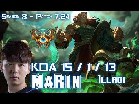 MaRin ILLAOI vs JAX Top - Patch 7.24 KR Ranked