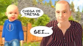 GRANNY! FAZENDO AS PAZES COM A VOVÓ ft. CRIS MINEGIRL (Granny Simulator)