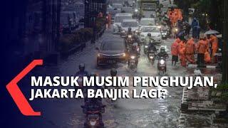 Memasuki Musim Penghujan, Jakarta Mulai Tergenang Air