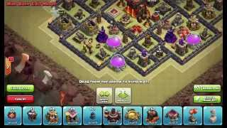 Clash of Clans Layouts - Town Hall 10 War Base Layout 82 (Ashley) with 275 Walls