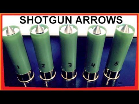 Sabot Micro-Arrows for SHOTGUN -  Experimental Rounds