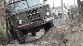 ГАЗ 66 рулит УАЗ так не смог 4х4 оффроад