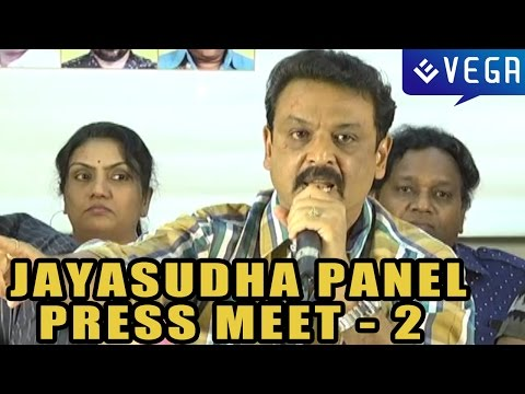 Jayasudha Panel Press Meet : Part 2 : MAA Elections 2015