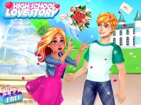 High School Love Story Dress Up Make Up Spa Videos