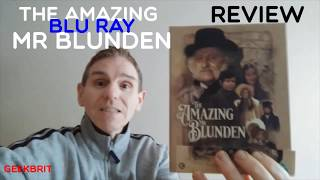 THE AMAZING MR BLUNDEN MOVIE LIMITED BLU RAY REVIEW SECOND SIGHT FILMS 70S HAMMER HORROR DIANA DORS