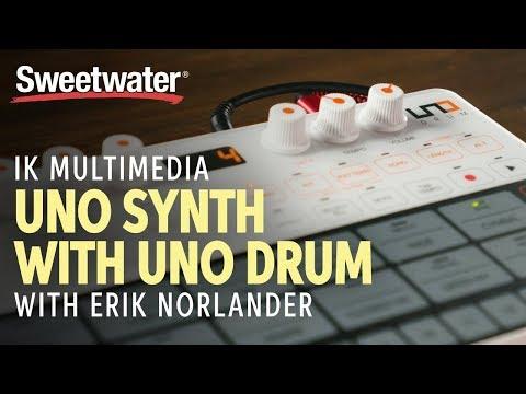 IK Multimedia UNO Synth with UNO Drum Demo