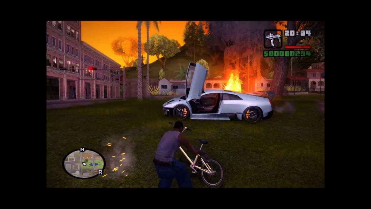 grand theft auto san andreas mods for pc