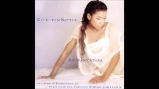 "Kathleen Battle - ""So Many Stars(Sérgio Mendes, Alan & Marilyn Bergman)"""