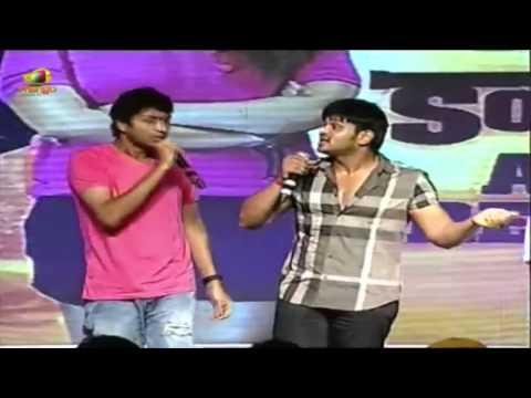 Allari Naresh and Manoj teasing Nikhil @ Karthikeya Audio Launch | Swathi | Tanikella Bharani