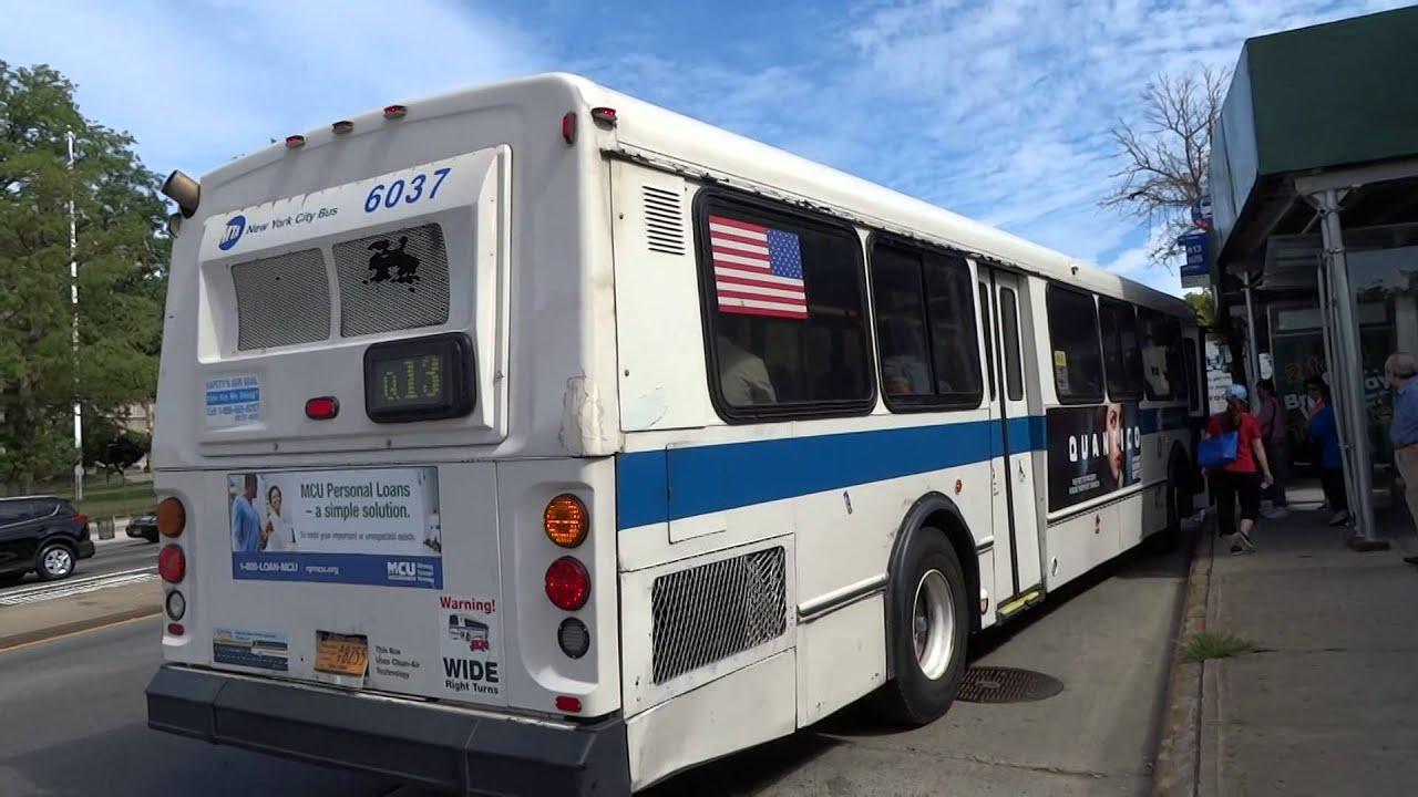 mta new york city bus: orion 05.501 #6037 whiteback q13 @ northern