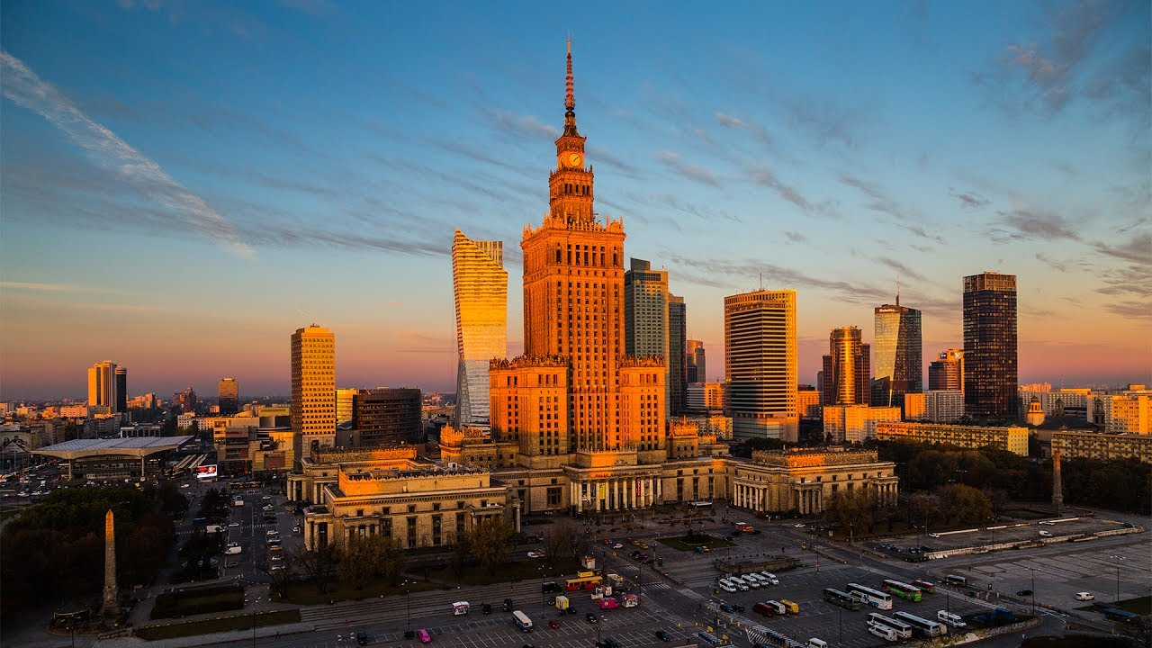 Warsaw, Poland, Warszawa, Polska, Patrycja Wanat, Polish places to visit, Palace of Culture and Science