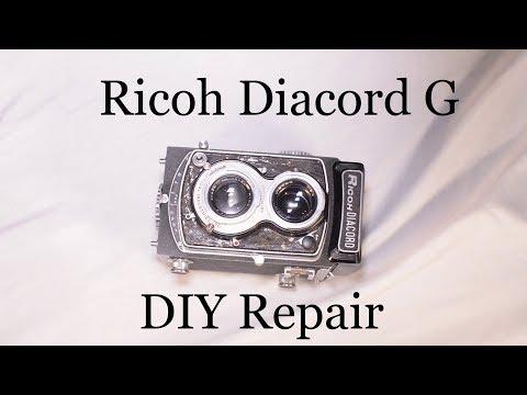 DIY Camera Repair: Ricoh Diacord G