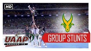 UAAP 78 CDC: FEU Cheering Squad Group Stunts