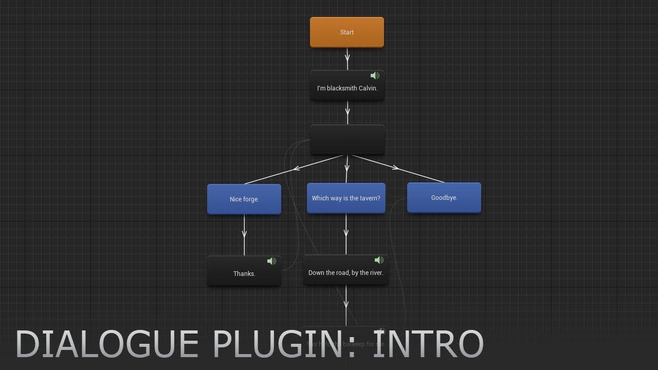 Unreal Engine] Dialogue Plugin   Board4All