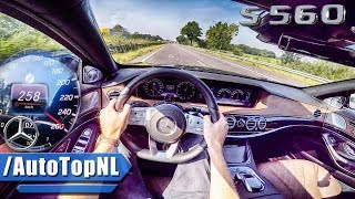 2018 Mercedes Benz S Class S560 AUTOBAHN POV TOP SPEED & ACCELERATION by AutoTopNL