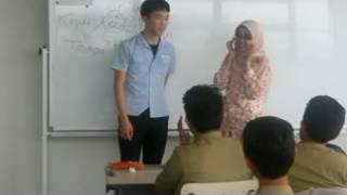 Pelajar Korea Belajar Bahasa Indonesia di SMP Muhammadiyah 5 Surabaya