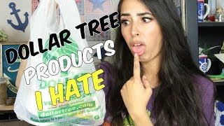DOLLAR TREE PRODUCTS I HATE