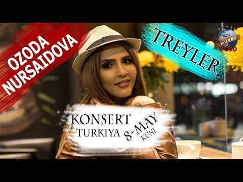 Ozoda Nursaidova - 2018 yilgi konsert dasturi (treyler) | Озода Нурсаидова - 2018 концерт (трейлер)