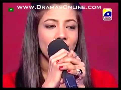 Sana Zulifqar in New Style _ Pakistan Idol Episode 21