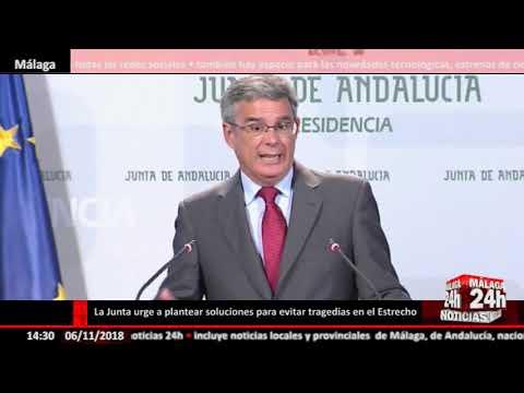 Noticia - La Junta de Andalucía insiste en plantear soluciones para evitar muertes en el estrecho