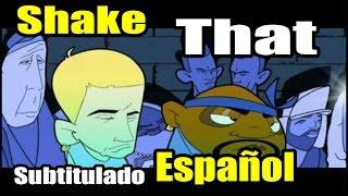 Repeat youtube video Eminem - Shake That ft.Nate Dogg (Subtitulada Español) HD