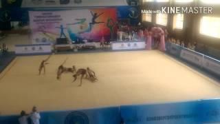 Чемпионат области по художественной гимнастике!
