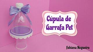 Cúpula Feita com Garrafa Pet / Mini suporte 💕