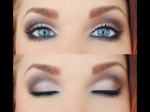 Фото свадебный макияж для голубых глаз