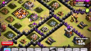 Clash of Clans: Freeze Spells are Cool, Jumps are Essential [CLAN WARS]