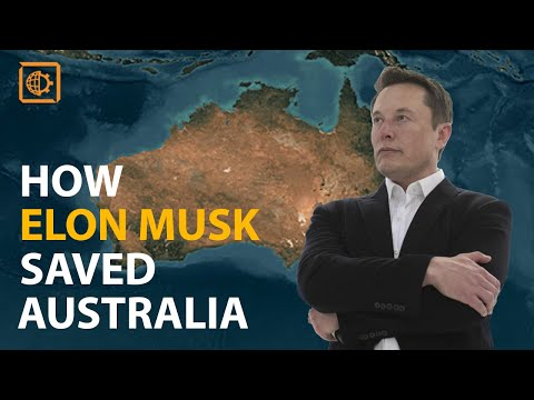 HOW ELON MUSK MANAGED TO SOLVE THE ENERGY CRISIS IN AUSTRALI