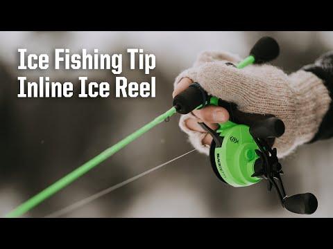 Ice Fishing Tip - Inline Ice Fishing Reel | SCHEELS