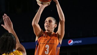 Diana Taurasi Sinks Record-Tying 8 Threes to Pass Catchings on All-Time Scoring List