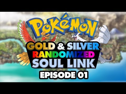 """A Wonderful Start"" - Pokemon Gold & Silver Randomized Soul Link Nuzlocke Ep 1 ft. Jasperokker"