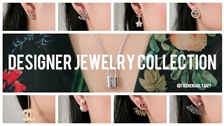chanel dior louis vuitton jewelry collection earrings brooches more fashionablyamy