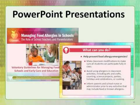 CDC's Toolkit for Managing Food Allergies in Schools