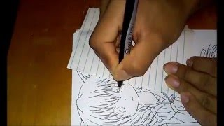 Black Bullet Midori Fuse Drawing