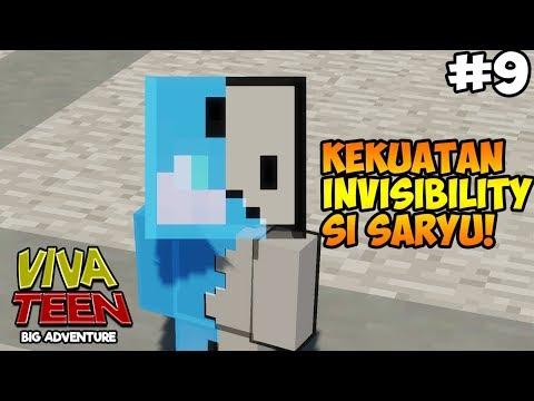 MINECRAFT VIVA TEEN #09 : KEKUATAN INVISIBILITY SARYU!!