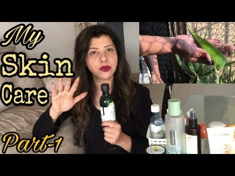 My Skin Care part 1 | Products for External Use | SS vlogs :-)