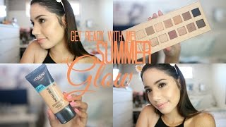 GET READY WITH ME | END OF SUMMER GLOW | 2016