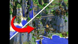 EPIC Amplified Minecraft World Transformation!
