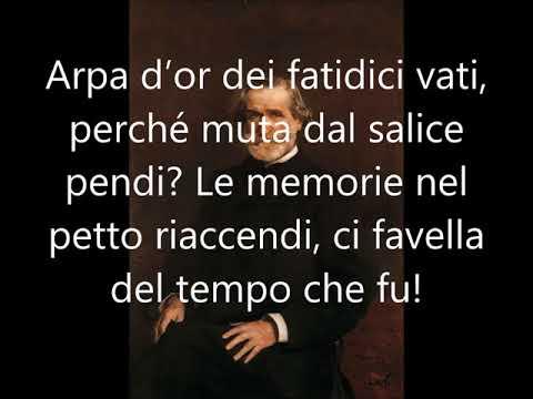 Giuseppe Verdi: Va pensiero - Testo e Musica