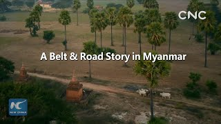 A Belt & Road story in Myanmar