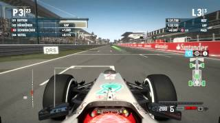 F1 2012™ Michael Schumacher Italy gameplay HD
