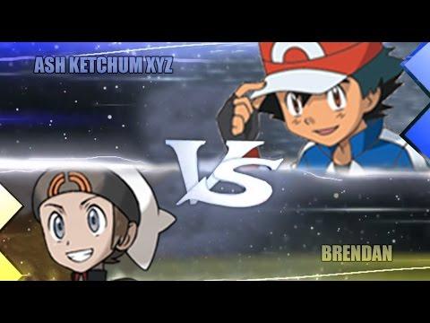 Pokemon Omega Ruby & Alpha Sapphire [ORAS]: XYZ Ash Vs Brendan