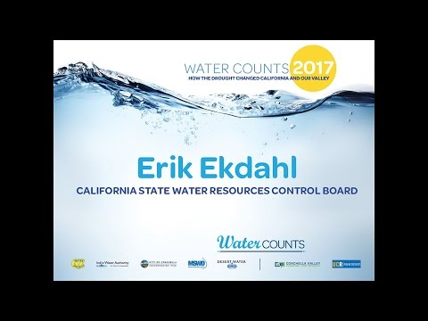 Water Counts 2017 , Erik Ekdahl - California State Water Res