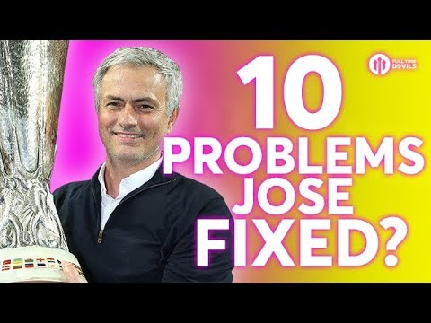 TEN PROBLEMS JOSE FIXED AT MANCHESTER UNITED?
