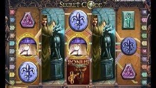 Machine à sous SECRET CODE - 50€ la partie - Gros Gain Gagnant avec les Free Spins + Jokers ?
