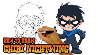 How to Draw Nightwing | DC Comics